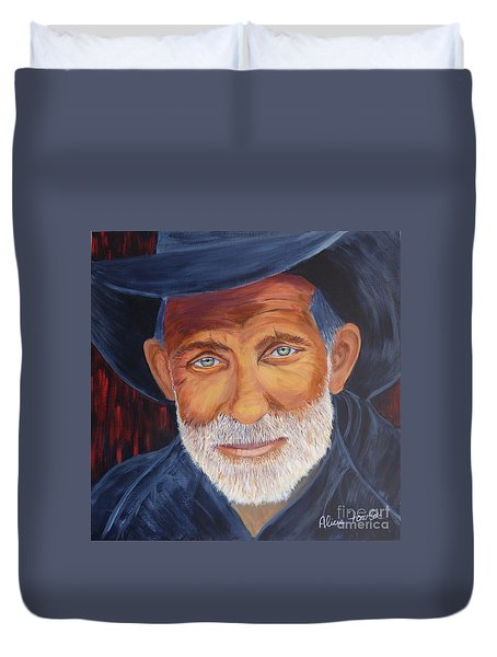 Cowboy Tex Duvet Cover