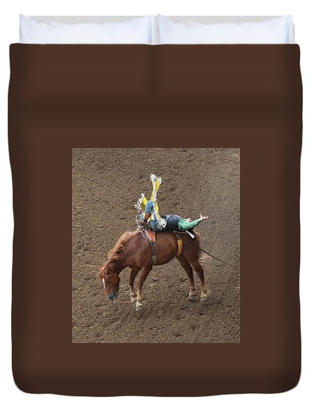 Cowboy Up Duvet Cover