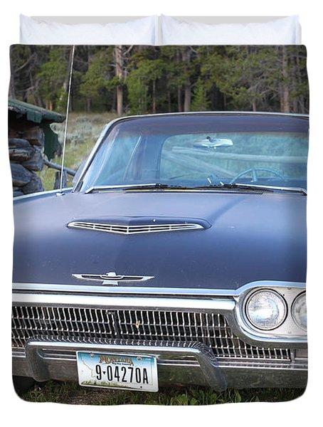 Cowboys Cadillac Duvet Cover