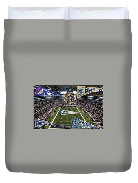 Cowboys Super Bowls Duvet Cover