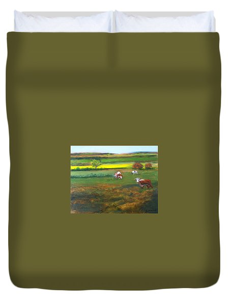 Cowgirls Duvet Cover