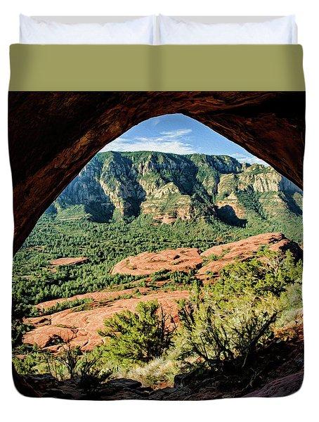 Cowpie 07-031p Duvet Cover by Scott McAllister