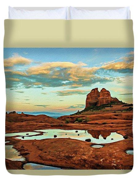 Cowpie 07-059 Duvet Cover by Scott McAllister