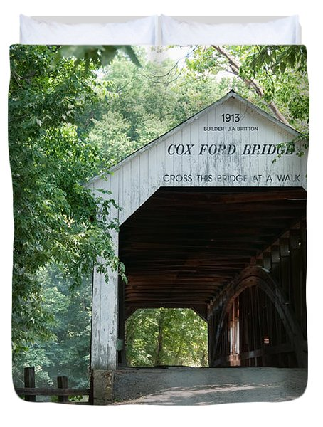 Cox Ford Bridge Duvet Cover