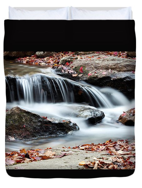 Coxing Kill In Autumn #1 Duvet Cover