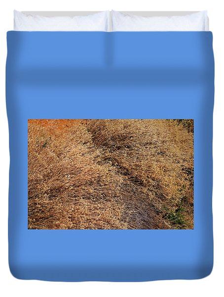 Coyote Brush Duvet Cover