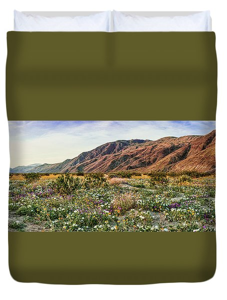 Coyote Canyon Sweet Light Duvet Cover