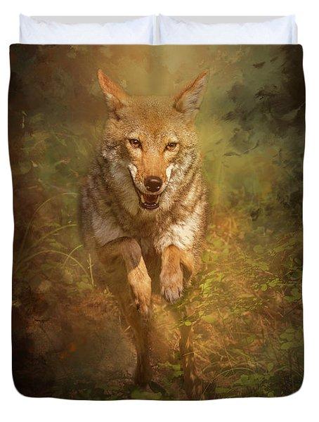 Coyote Energy Duvet Cover