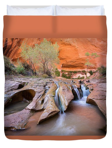 Coyote Gulch Duvet Cover