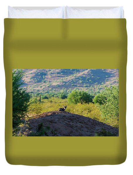 Coyote Hill Duvet Cover
