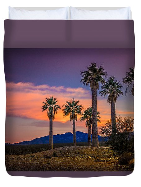 Coyote Springs Nevada Duvet Cover