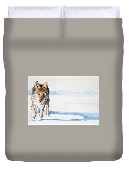 Coyote Trot Duvet Cover