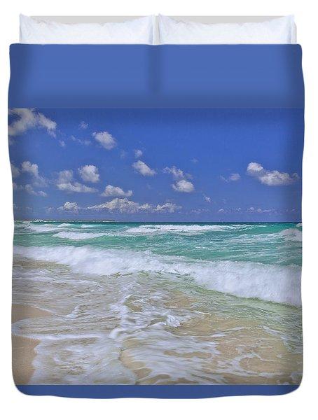 Cozumel Paradise Duvet Cover