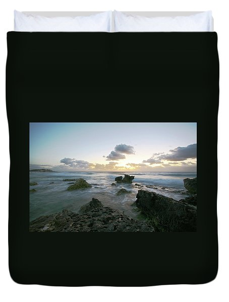 Cozumel Sunrise Duvet Cover