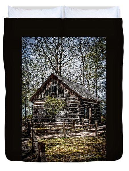 Cozy Cabin Duvet Cover