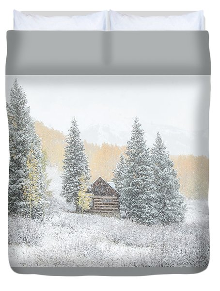Cozy Cabin Duvet Cover