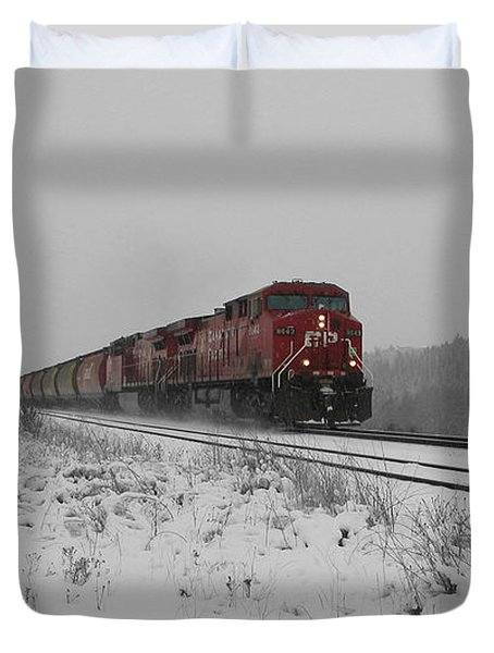 Cp Rail 2 Duvet Cover by Stuart Turnbull