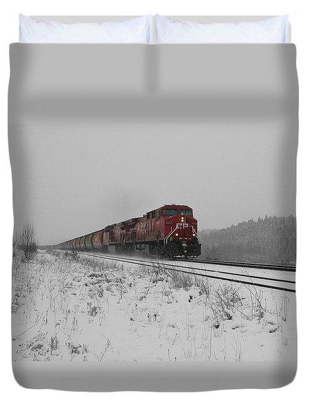 Cp Rail 2 Duvet Cover by Stuart Turnbull