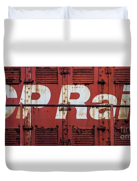 Cp Rail Duvet Cover