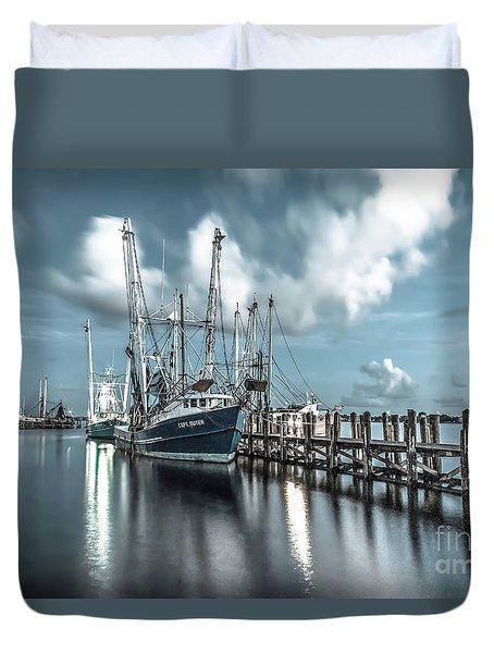Cpt. Duyen Duvet Cover by Maddalena McDonald