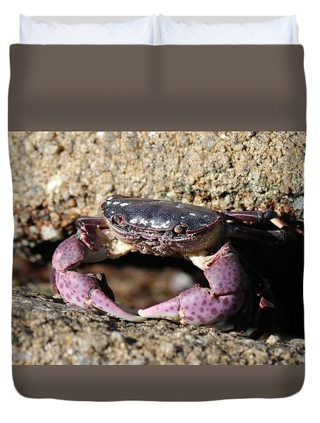 Crab 2  Duvet Cover