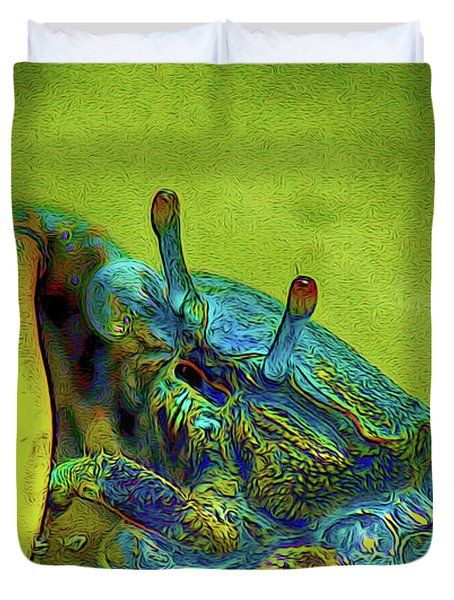 Crab Cakez 2 Duvet Cover