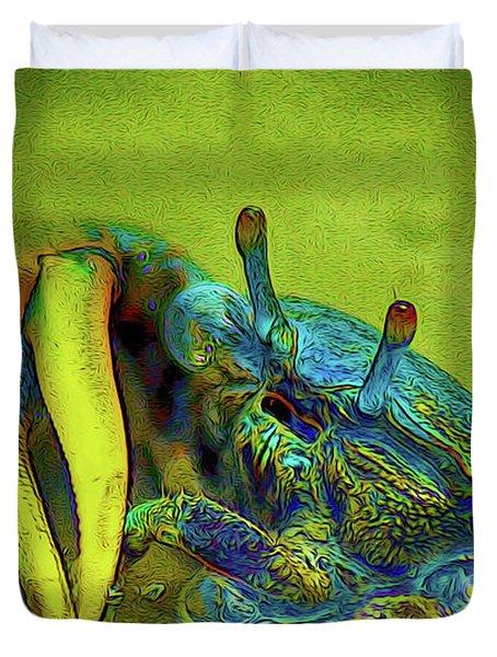 Crab Cakez 2 Duvet Cover