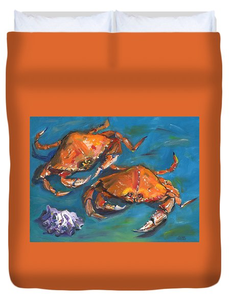 Crabs Duvet Cover