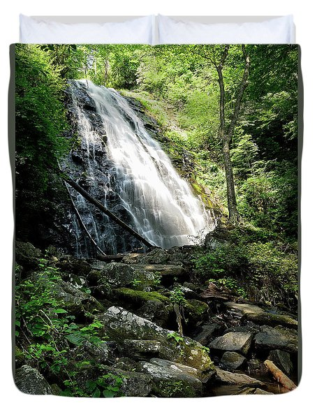 Crabtree Falls Duvet Cover