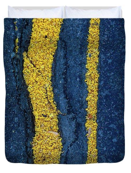 Cracked #9 Duvet Cover