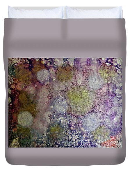 Cracked Lights Duvet Cover