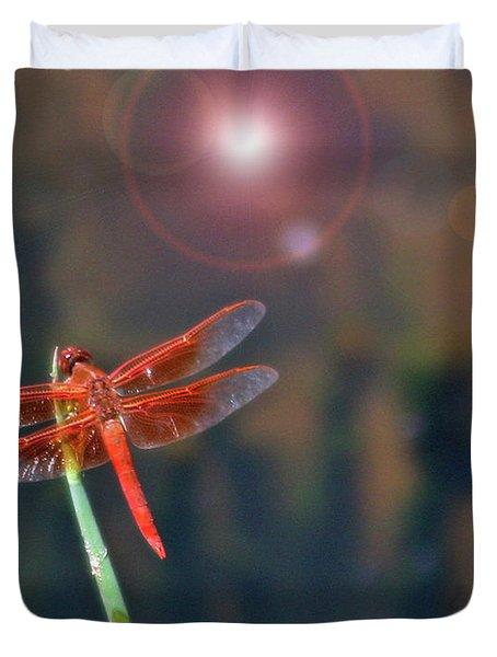 Crackerjack Dragonfly Duvet Cover