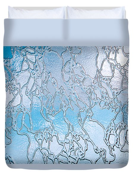Crackle Sky Duvet Cover