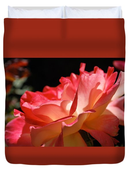 Cracklin' Rose Duvet Cover