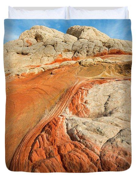 Cracks And Swirls Duvet Cover