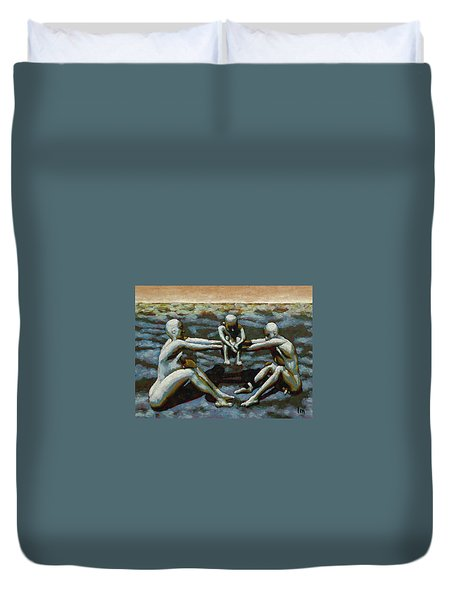 Cradle Duvet Cover by Leo Mazzeo