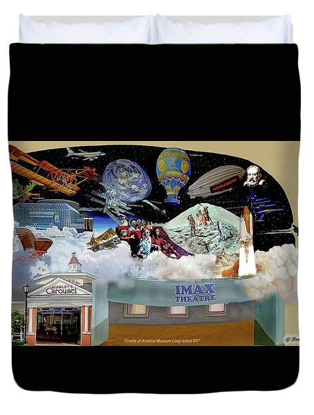 Cradle Of Aviation Museum Duvet Cover