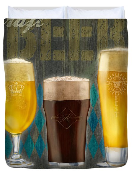 Craft Beer Duvet Cover
