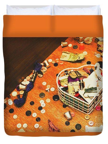 Crafting Corner Duvet Cover