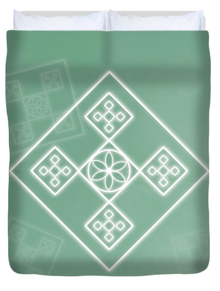 Crafting The Soul Duvet Cover