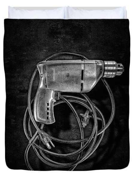 Craftsman Drill Motor Bs Bw Duvet Cover