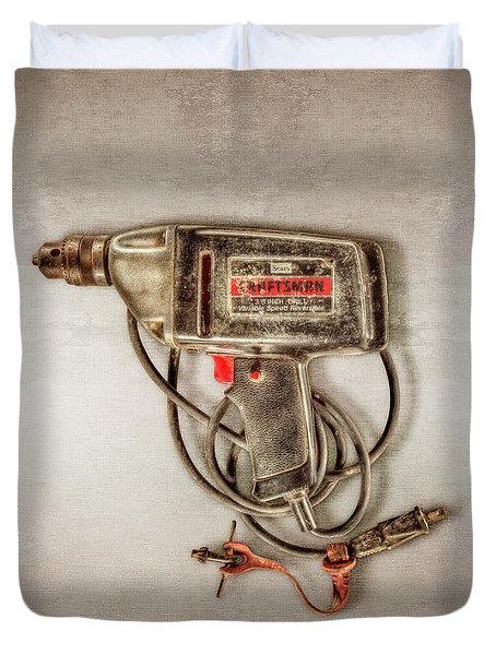Craftsman Electric Drill Motor Duvet Cover
