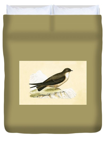 Crag Swallow Duvet Cover by English School