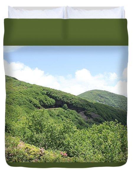 Craggy Gardens Duvet Cover