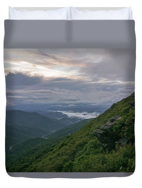 Craggy Mountain Duvet Cover