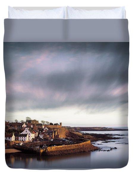 Crail Harbour Duvet Cover