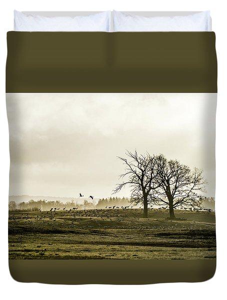 Crane Hill Duvet Cover by Torbjorn Swenelius