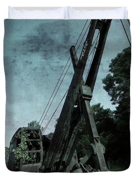 Crane Duvet Cover