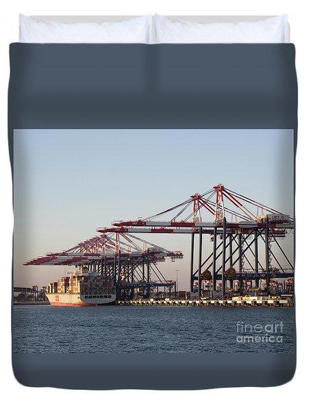Cranes 2 Duvet Cover
