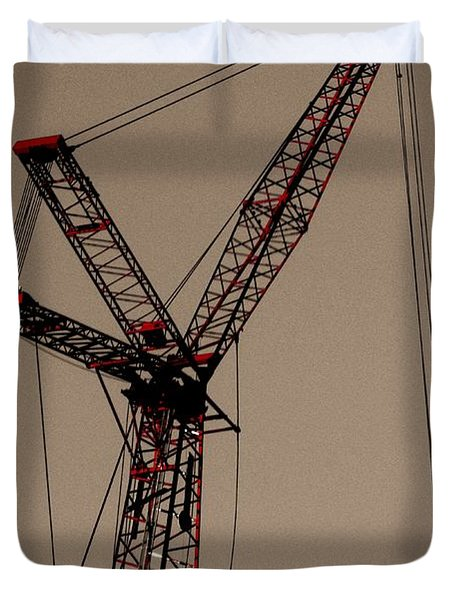 Crane's Up Duvet Cover